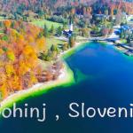 【スロベニア・ボーヒン湖のドローンムービー】自然以外、何もないブッちぎりの美しさ★