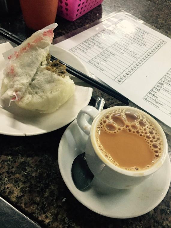 ヤンゴン喫茶店