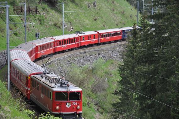 スイス 電車