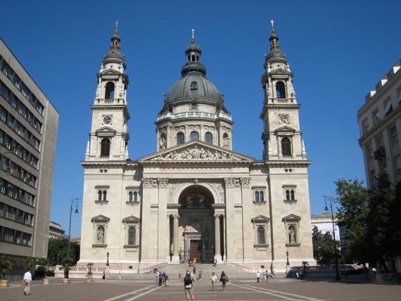 ブダペストで最も高い建造物である聖イシュトヴァーン大聖堂