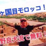 【50カ国達成!マイルパワーで無料でモロッコ^ ^】