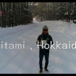 【冬の北海道×Phantom4_Pro_4K】2017年初日の出北見市端野町雪道