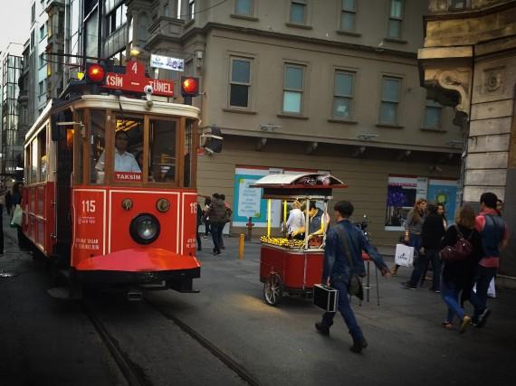 トルコ イスタンブール 町中